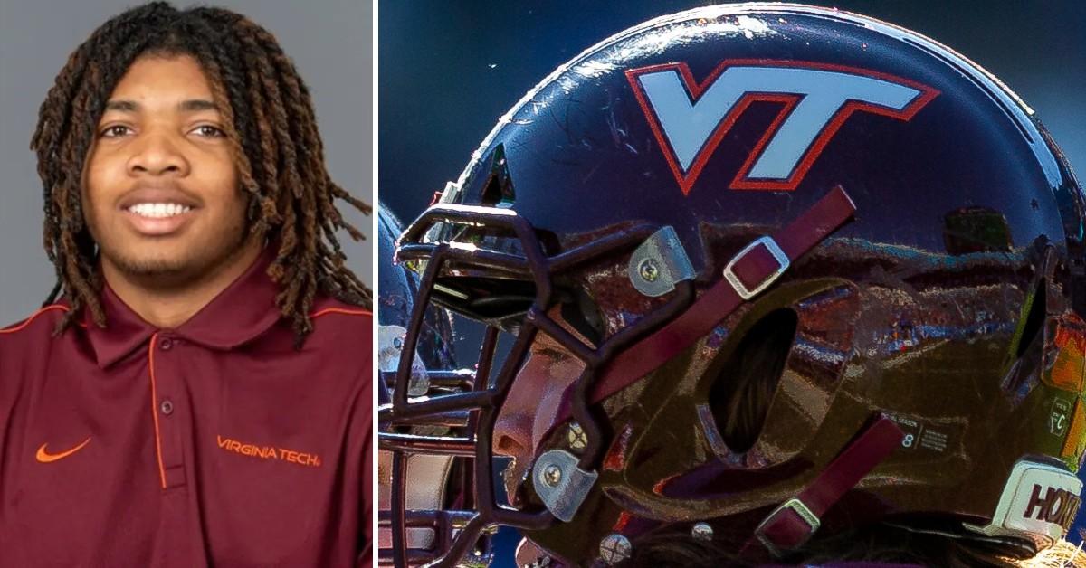 Virginia Tech football player went to meet a woman he