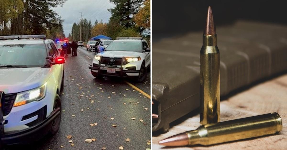 argument leads to shooting man dead shutting down highway in washington