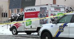 body found in u hail truck philadelphia fpd