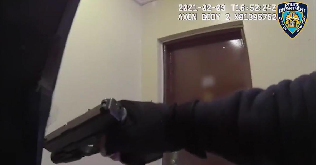 nypd officers shot body cam footage fpd
