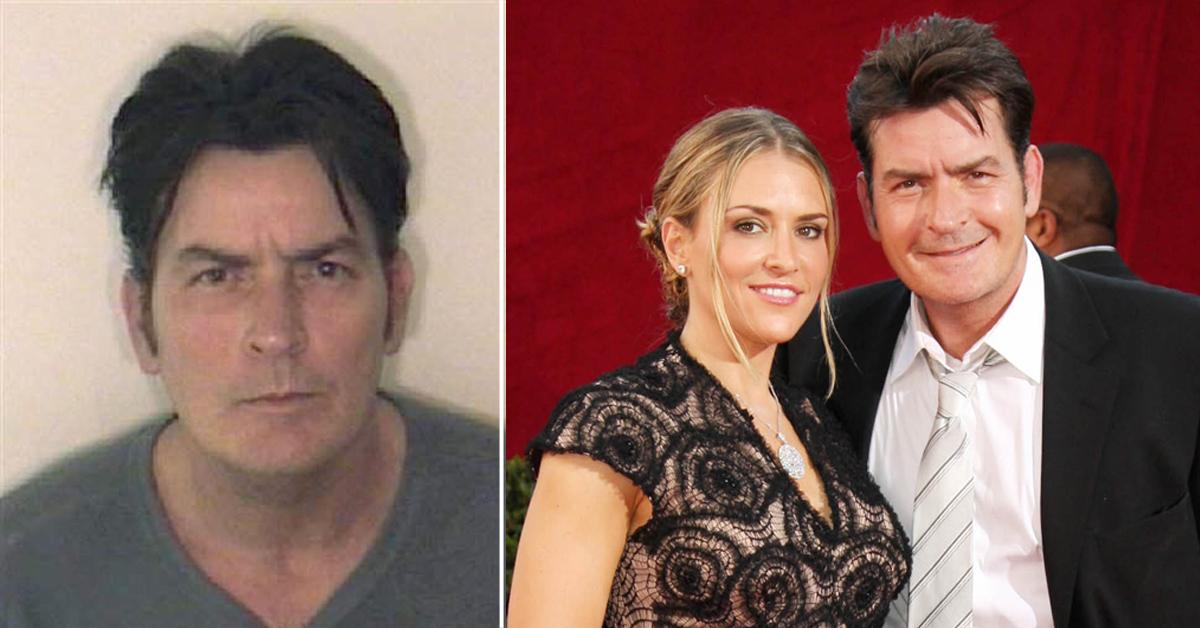 story behind charlie sheen mugshot domestic violence fpd