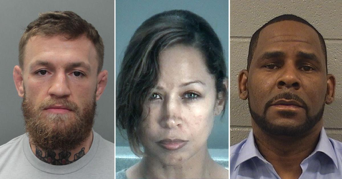 notable recent celebrity mugshots arrests hollywood pf