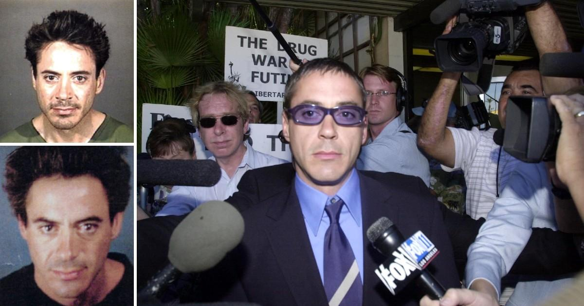 Tun In 1996, Robert Downey Jr. was stopped by police after
